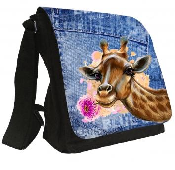 Damentasche Denim Vintage Schultertasche Tasche  Umhängetasche #MR49
