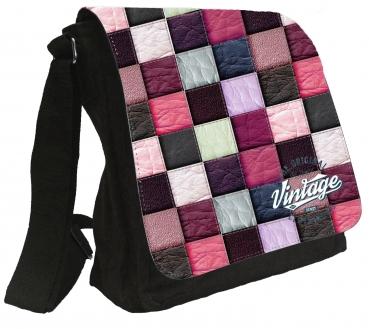 Damentasche Denim Vintage Schultertasche Tasche  Umhängetasche #MR61