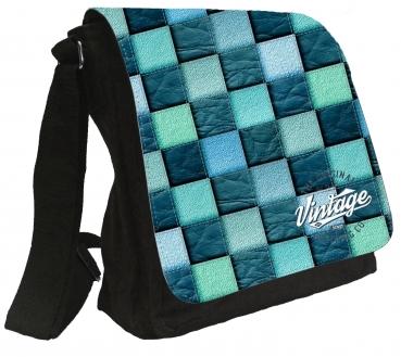 Damentasche Denim Vintage Schultertasche Tasche  Umhängetasche #MR62