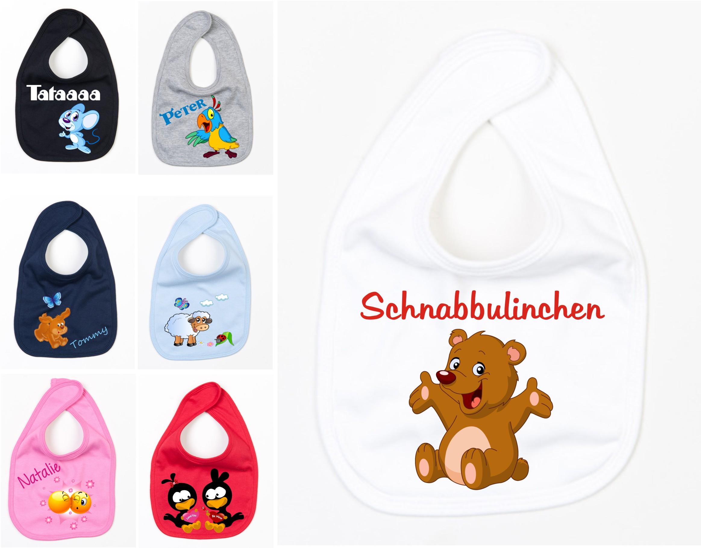 kindergartenrucksack mit namen  lätzchen