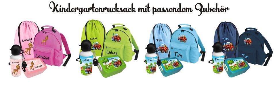 stylistisches Aussehen offiziell schönen Glanz Kindergartenrucksack mit Namen - Kindergartenrucksack Bambini